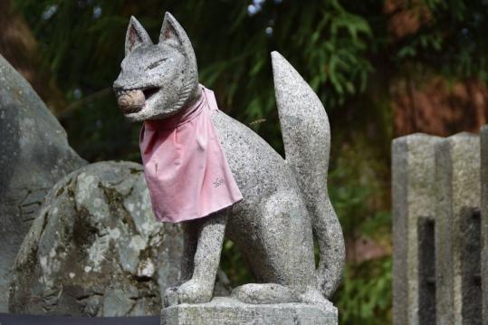 Kitusune, el zorro mensajero de Inari